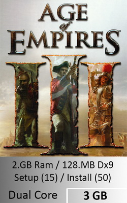 Age of Empires III  [ 3 GB ]